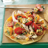Food & Wine: Fresh Herb-and-Tomato Salsa with Smoked Cheese