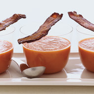 Food & Wine: Smoky Tomato Soup with Maple-Candied Bacon