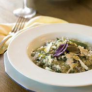 Food & Wine: Brown Rice Pilaf with Green Olives and Lemon