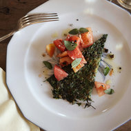 Food & Wine: Herb Frittatas with Minty Tomato Salad