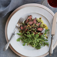 Food & Wine: Hanger Steak with Herb-Nut Salsa