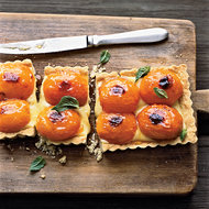 Food & Wine: Apricot-and-Basil Shortbread Tart