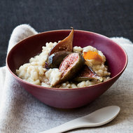 Food & Wine: Soy Milk-Arborio Rice Pudding with Poached Figs