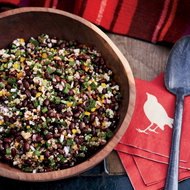 Food & Wine: Black Bean-and-Quinoa Salad