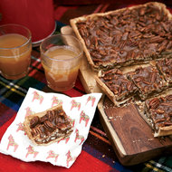 Food & Wine: Caramel-Pecan Bars