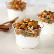 Food & Wine: Spiced Chickpeas with Yogurt and Pine Nuts