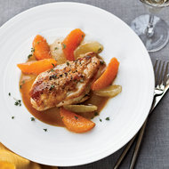Food & Wine: Pan-Roasted Chicken with Citrus Sauce