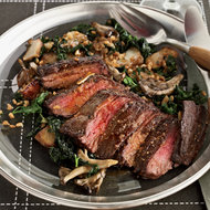 Food & Wine: Skirt Steak with Paprika Butter