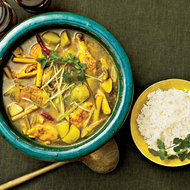 Food & Wine: Cornish Hen Stew with Lemongrass and Chiles