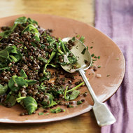Food & Wine: Lentils with Red Wine and Herbs