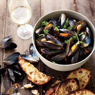 Food & Wine: Fennel Mussels with Piquillo Rouille