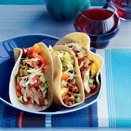 Food & Wine: Grilled-Chicken Tacos