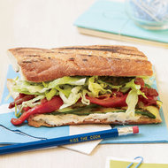 Food & Wine: Grilled Vegetable Sandwiches