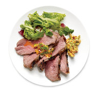 Food & Wine: Sous Vide Tri-Tip with Cilantro Butter
