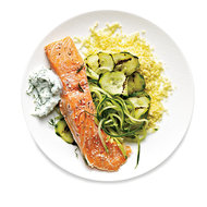 Food & Wine: Sous Vide Salmon with Cucumbers