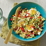 Food & Wine: Summer Chopped Salad with Quick-Pickled Vegetables