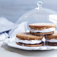 Food & Wine: Chocolate-Peanut Butter Moon Pies