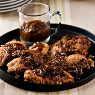 Food & Wine: Oven-Fried Chicken Breasts
