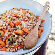 Food & Wine: Chickpeas with Tomatoes and Carrots