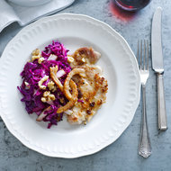 Food & Wine: Pork Scaloppine with Cabbage