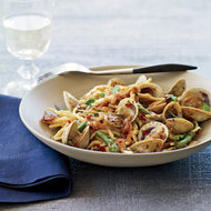 Food & Wine: Trofie Pasta with Cockles, Chiles and Black Bean Sauce