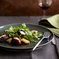 Food & Wine: Roasted Mascarpone-Filled Dates with Watercress & Brioche