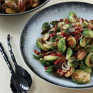 Food & Wine: Caramelized Brussels Sprouts with Pancetta