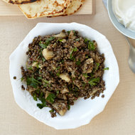 Food & Wine: Eggplant-Lentil Salad