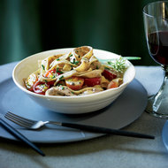 Food & Wine: Fresh Fettuccine with Chicken-Liver Sauce