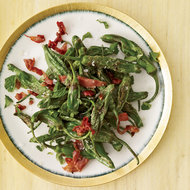 Food & Wine: Fried Peppers with Prosciutto