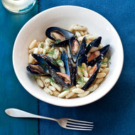 Food & Wine: Cavatelli with Mussels, Lillet and Dill