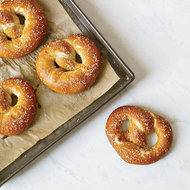 Food & Wine: German-Style Pretzels