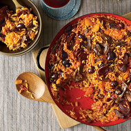 Food & Wine: Rice with Duck and Apricots