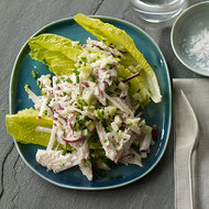Food & Wine: Smoked Mackerel Salad with Crunchy Vegetables