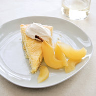 Food & Wine: Buttermilk Cake with Riesling-Poached Pears
