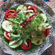Food & Wine: Lao Mixed Salad with Peanuts and Fried Shallots