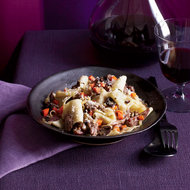 Food & Wine: Pappardelle with Duck Ragù