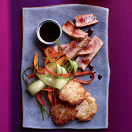 Food & Wine: Seared Tuna Steaks with Citrusy Soy Sauce