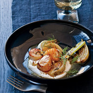 Food & Wine: Scallops with Yogurt and Fennel