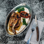 Food & Wine: Spice-Rubbed Poussins