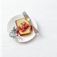 Food & Wine: Strawberry-and-Wild-Fennel Compote with Pound Cake