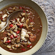 Food & Wine: Andouille, Crab and Oyster Gumbo