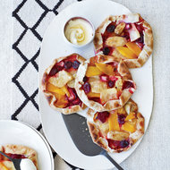 Food & Wine: Free-Form Pineapple, Mango and Berry Tarts