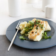 Food & Wine: Thyme-Crusted Buttery Halibut with Parsley Sauce