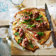 Food & Wine: Gorgonzola, Fig and Pancetta Pizza