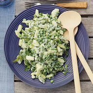 Food & Wine: Cucumber and Baby Pea Salad