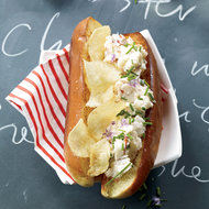 Food & Wine: Deluxe Lobster and Potato Chip Rolls