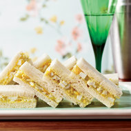 Food & Wine: Curried-Egg Tea Sandwiches
