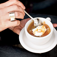 Food & Wine: Butterscotch Pots de Crème with Caramel Sauce
