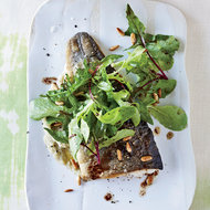 Food & Wine: Trout with Warm Pine-Nut Dressing and Fennel Puree